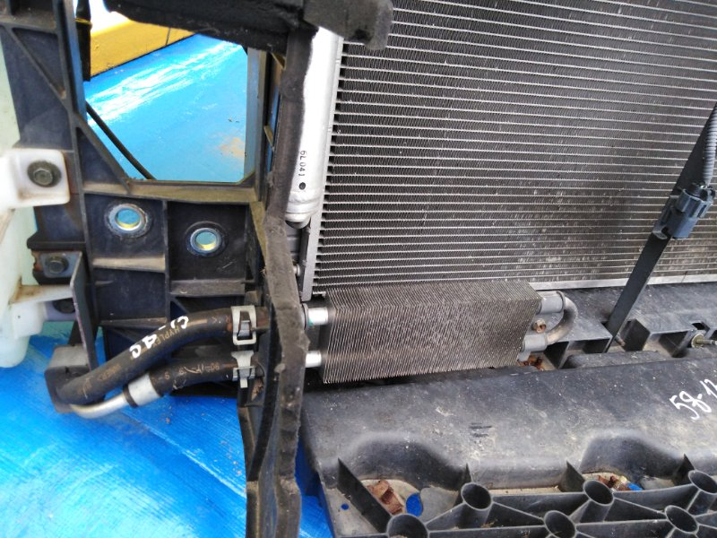 Радиатор масляный Nissan Skyline KV36 VQ25HR радиатор гидроусилителя (б/у)