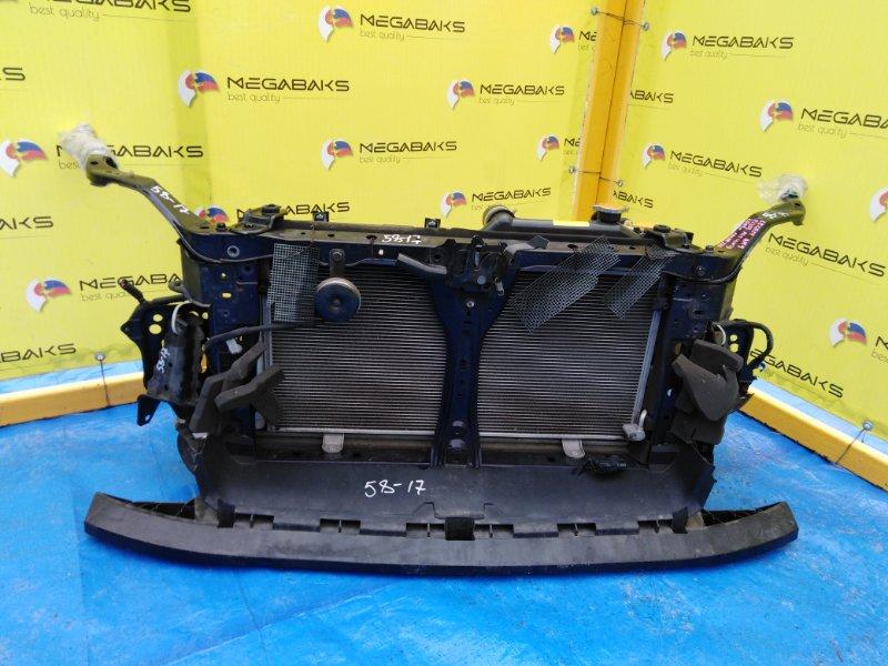Защита бампера Subaru Legacy BM9 передняя (б/у)