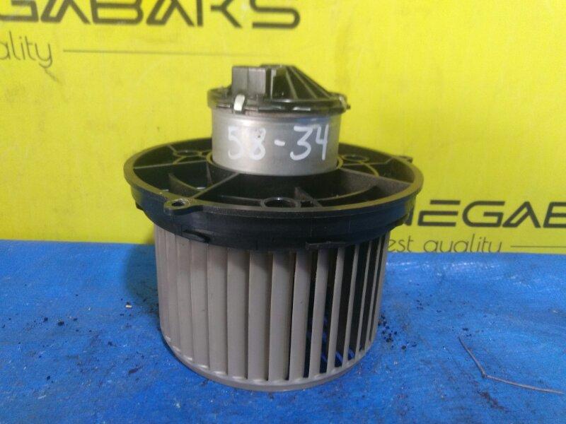 Мотор печки Mitsubishi Pajero Mini H58A 4A30 (б/у)