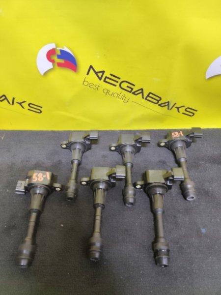 Катушка зажигания Nissan Teana J31 VQ23 22448-8J11C, AIC-3102N (б/у)