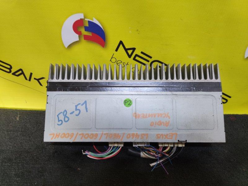 Усилитель магнитофона Lexus Ls460 USF40 86280-50290 (б/у)