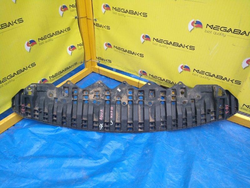 Защита бампера Toyota Aqua NHP10 1NZ-FXE 2012 передняя (б/у)