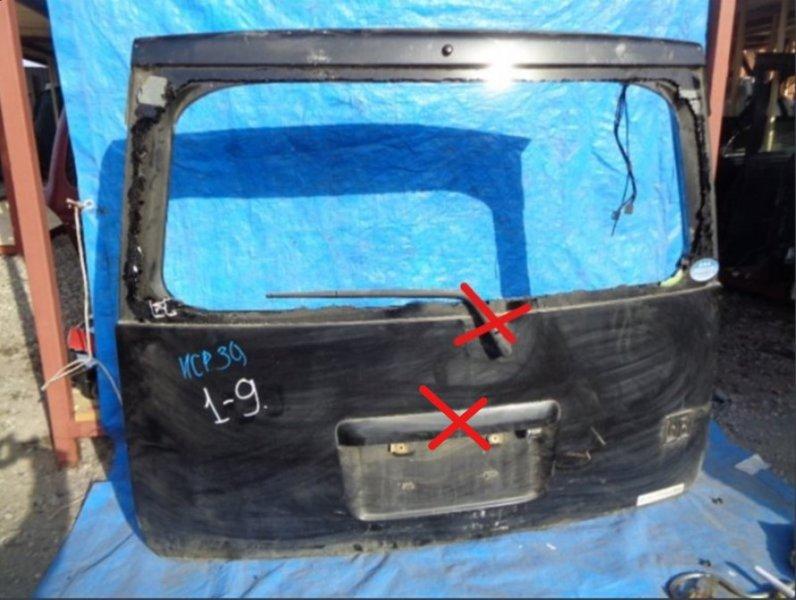 Дверь задняя Toyota Bb NCP35 (б/у)