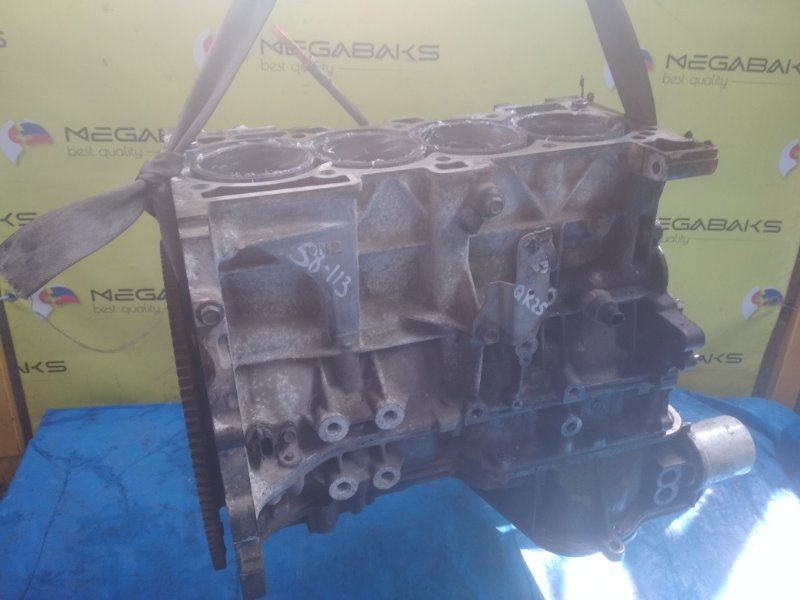 Блок двигателя Nissan Presage TU31 QR25DE 119163A (б/у)