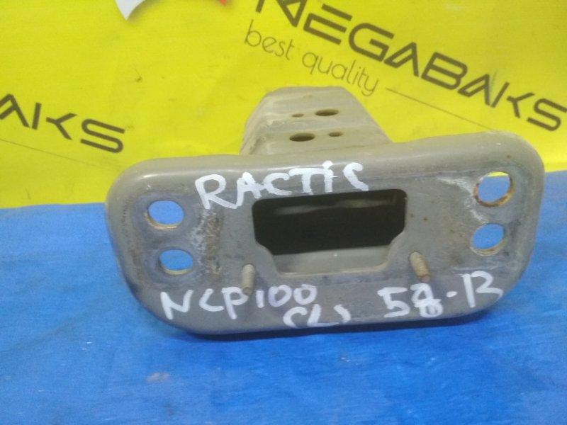 Крепление жесткости бампера Toyota Ractis NCP100 переднее левое (б/у)