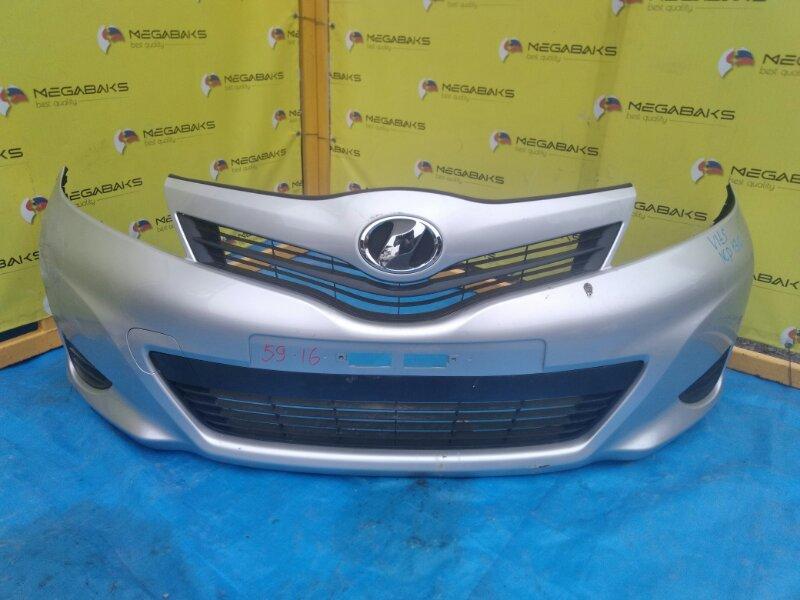Бампер Toyota Vitz KSP130 передний I MODEL (б/у)