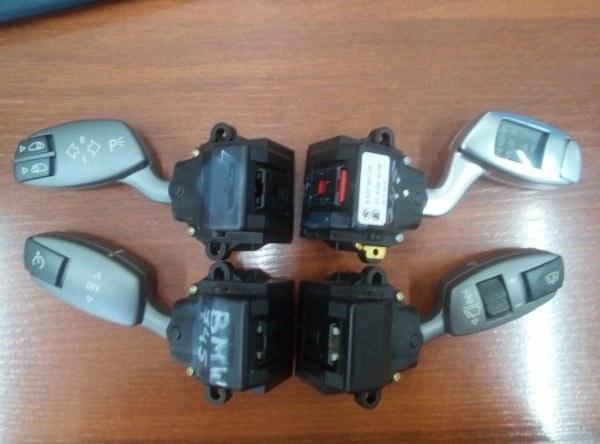 Блок подрулевых переключателей Bmw 7-Series E65 N62B44A 2002 (б/у)