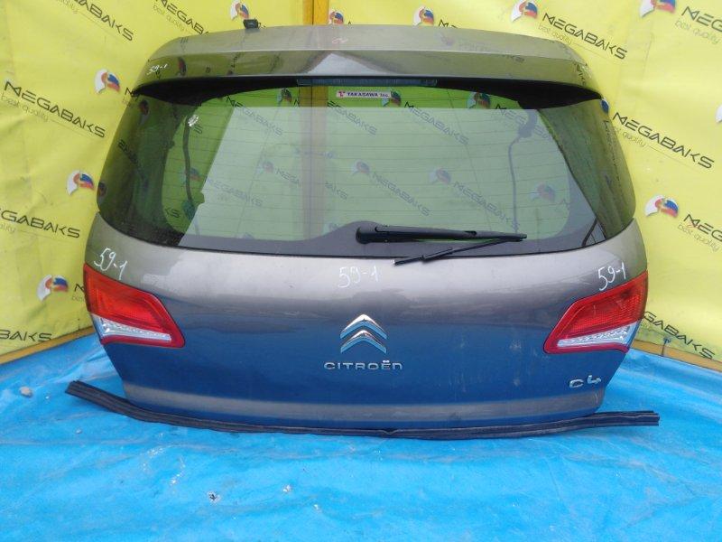 Дверь задняя Citroen C4 B7 2010 (б/у)