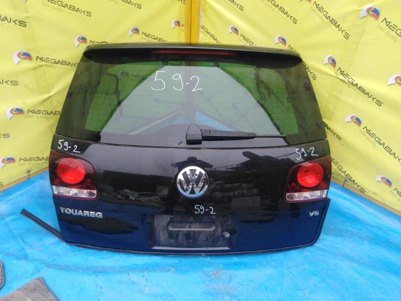 Дверь задняя Volkswagen Touareg 7L6 2006 2 модель (б/у)