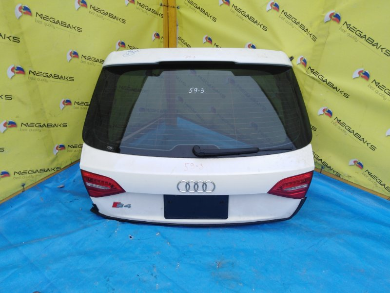 Дверь задняя Audi A4 B8 2007 S4 (б/у)