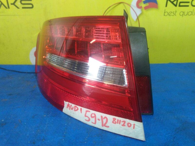 Стоп-сигнал Audi A4 B8 2007 левый 811201 (б/у)