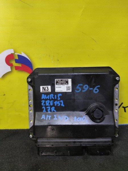 Блок efi Toyota Auris ZRE152 2ZR 89661-12L50 (б/у)