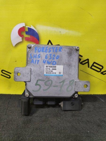 Блок управления рулевой рейкой Subaru Forester SH5 EJ20 34710 SC020 (б/у)