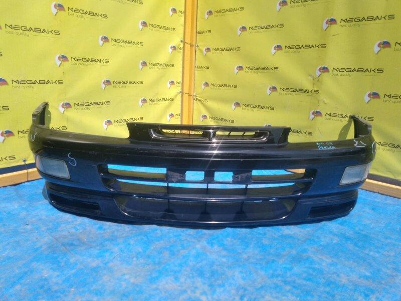 Бампер Nissan Presea HR11 передний I MODEL +ГУБА (б/у)