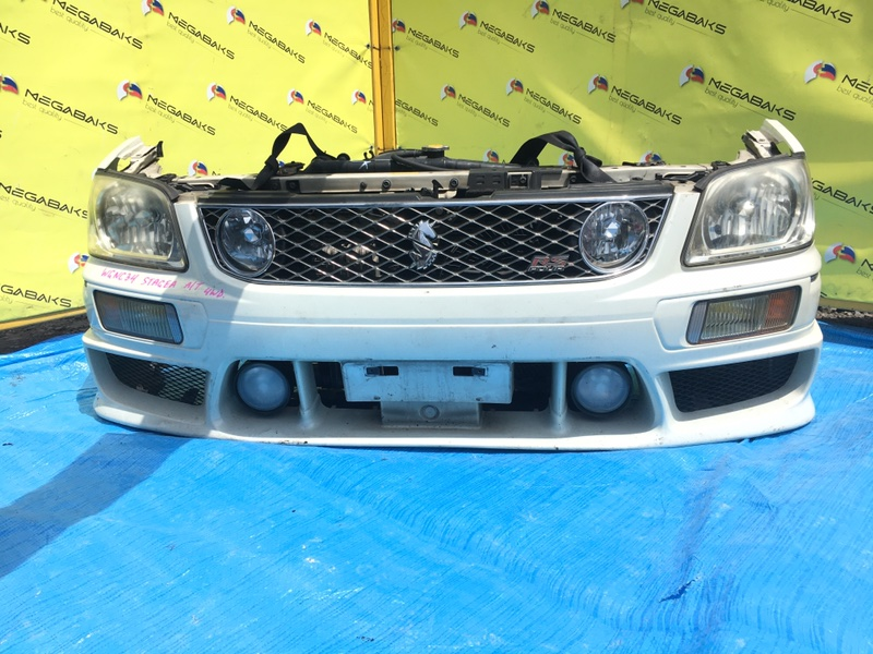 Nose cut Nissan Stagea WGNC34 RB20DET ФАРА№ 100-63512 (б/у)