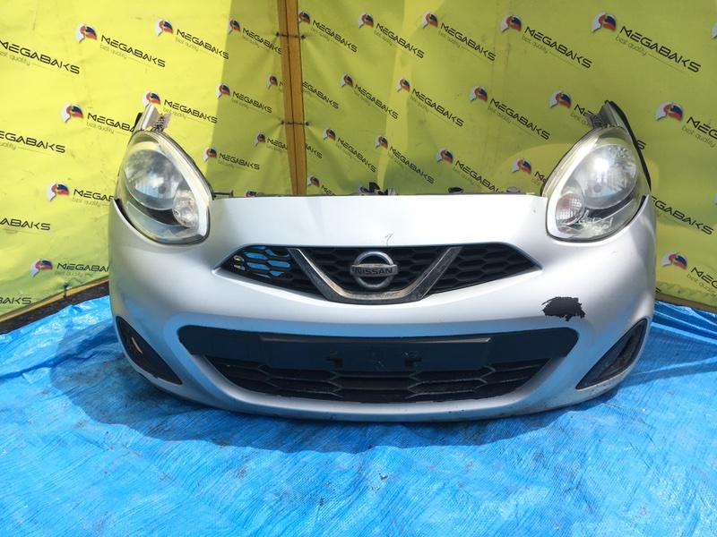 Nose cut Nissan March K13 HR12DE ФАРА№ 100-17944 (б/у)