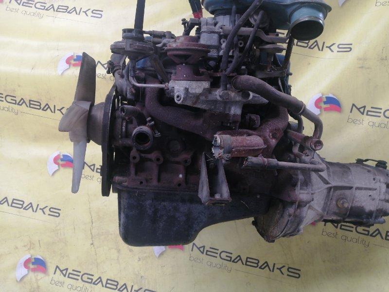 Двигатель Nissan Vanette VC122 A12 + МКПП (б/у)
