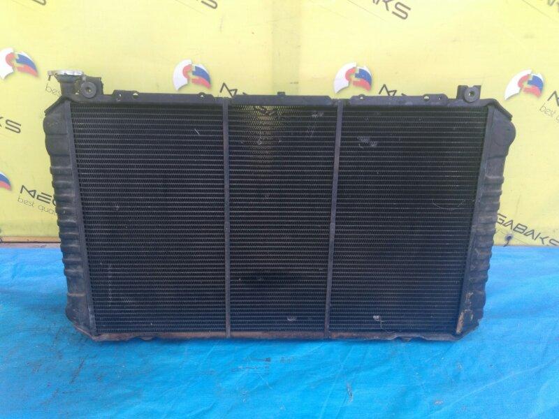 Радиатор основной Nissan Safari FGY60 TB42 ПРОБЕГ 24200 КМ (б/у)