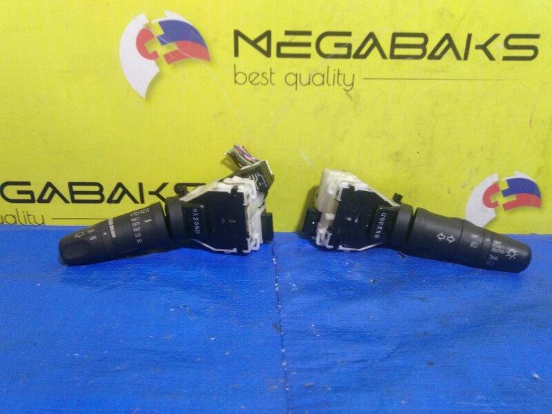 Блок подрулевых переключателей Nissan Cube Z12 туманки (б/у)