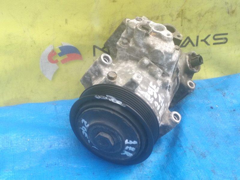 Компрессор кондиционера Toyota Wish ZGE21 3ZR-FAE 447260-3373 (б/у)