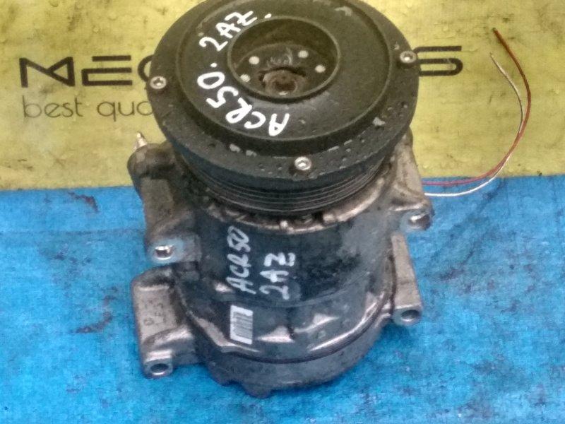 Компрессор кондиционера Toyota Estima ACR50 2AZ-FE 447260-1147 (б/у)