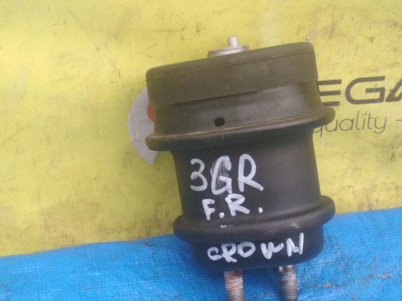 Подушка двигателя Toyota Crown GRS200 3GR правая (б/у)