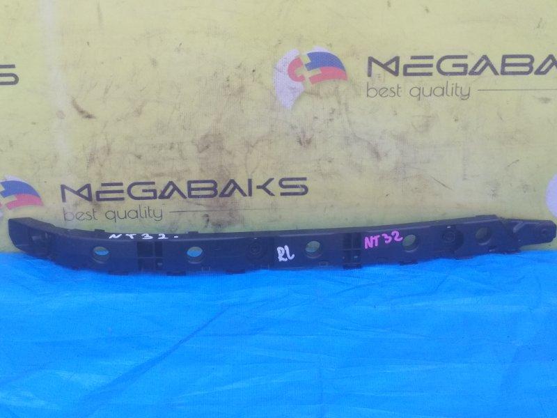 Крепление бампера Nissan X-Trail NT32 заднее левое 852214CE0A (б/у)