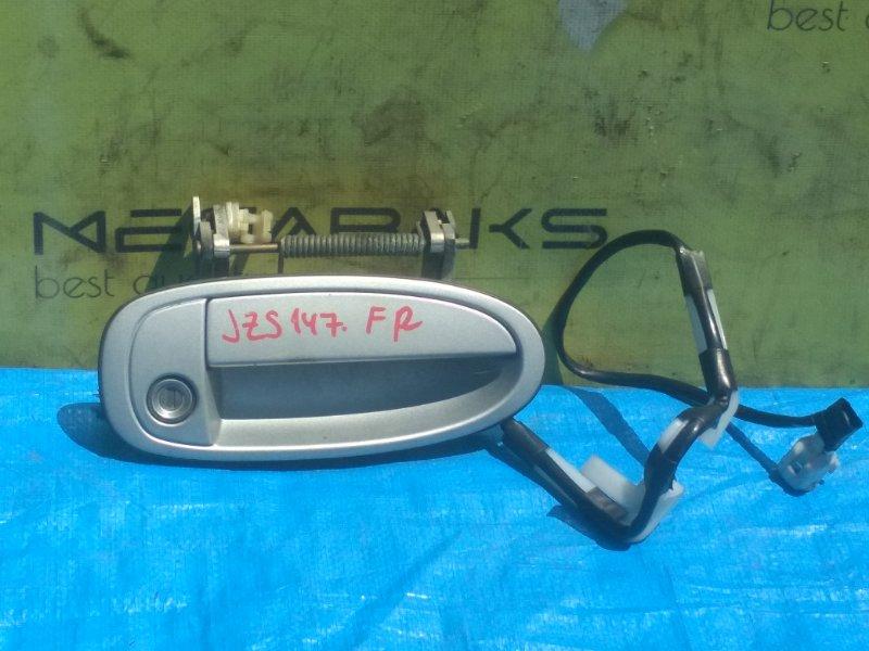 Ручка двери Toyota Aristo JZS147 передняя правая (б/у)