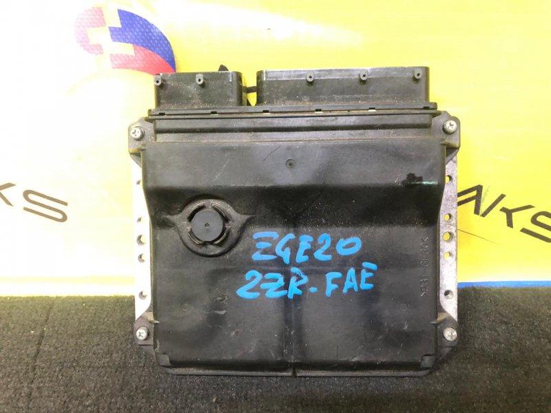 Блок efi Toyota Wish ZGE20 2ZR-FAE 89661-68150 (б/у)
