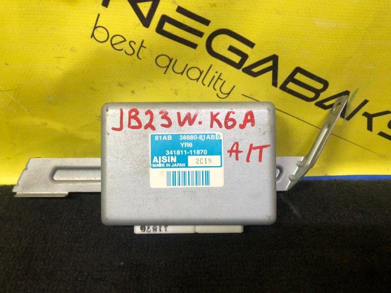 Блок управления акпп Suzuki Jimny JB23 K6A 341811-11870 (б/у)