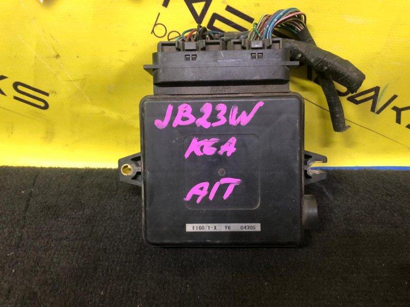 Блок efi Suzuki Jimny JB23W K6A F160-700 (б/у)