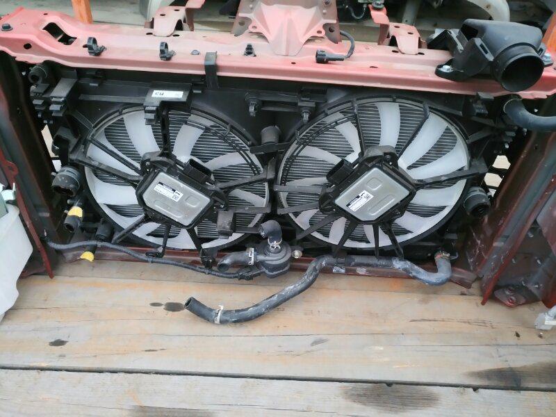 Радиатор основной Toyota Prius Phv ZVW52 2ZR-FXE (б/у)