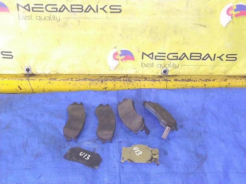 Колодки тормозные Nissan Bluebird U13 передние (б/у)