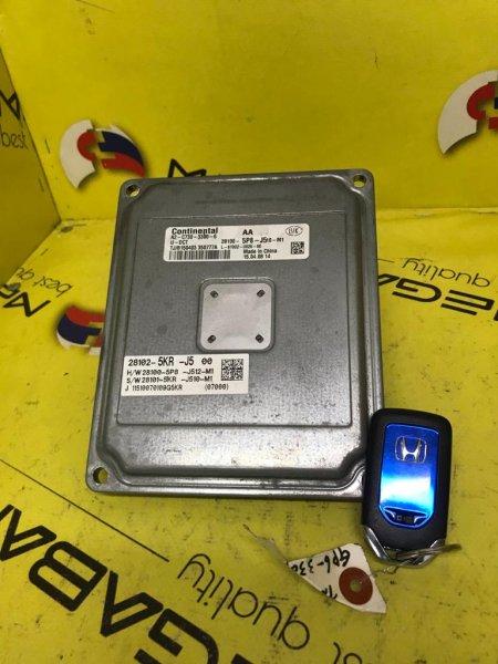 Ключ зажигания Honda Fit GP6 LEB 28100-5P8-J5 (б/у)