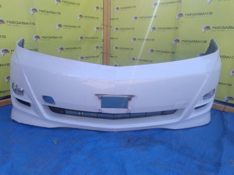 Бампер Toyota Alphard ANH15 передний II MODEL (б/у)