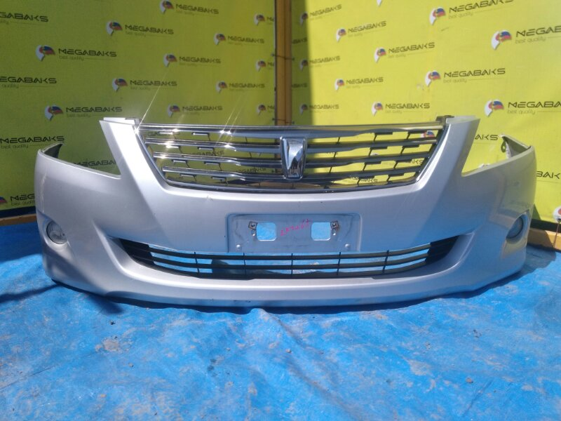 Бампер Toyota Premio NZT260 передний I MODEL + РЕШЕТКА (б/у)