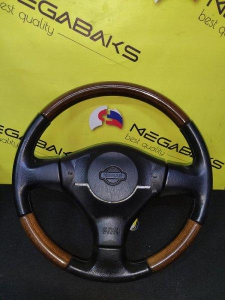 Руль Nissan Bluebird U14 QG18DE (б/у)