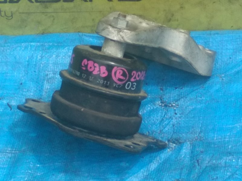 Подушка двигателя Volkswagen Polo MK5 CBZB 2012 правая (б/у)