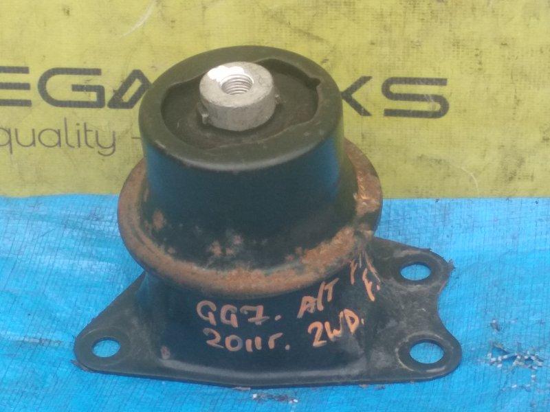 Подушка двигателя Honda Fit GG7 2011 передняя правая (б/у)