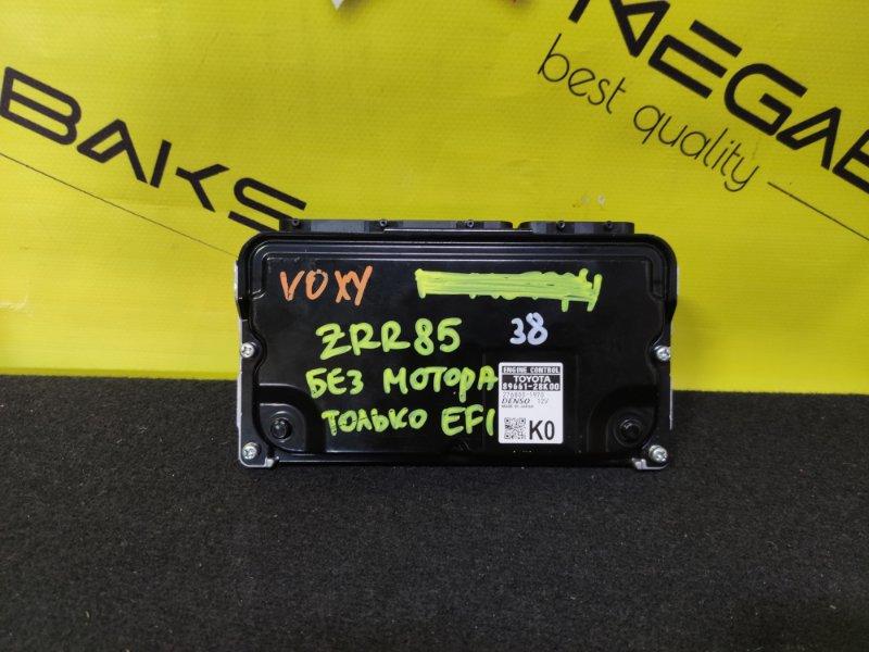 Блок efi Toyota Voxy ZRR85 3ZR-FAE 89661-28K00 (б/у)