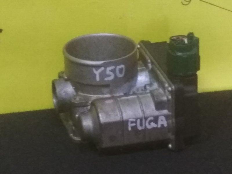 Дроссельная заслонка Nissan Fuga Y50 VQ25 SERA576-01 (б/у)