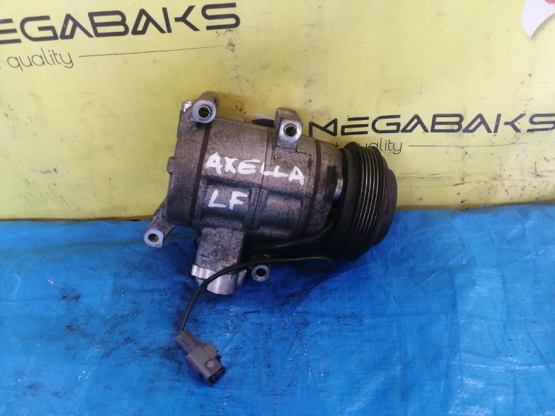 Компрессор кондиционера Mazda Axela BLEFW LF (б/у)