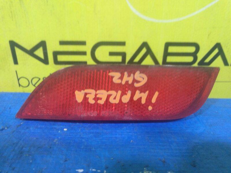 Катафот в бампер Subaru Impreza GH8 задний левый 32302 (б/у)