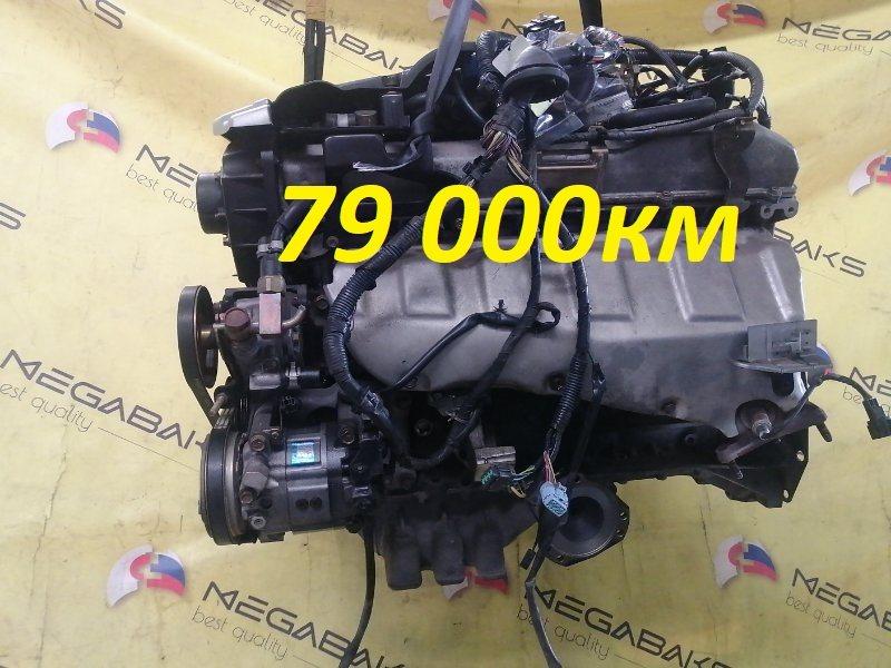 Двигатель Nissan Stagea WGNC34 RB25DE 2001 385081A (б/у)