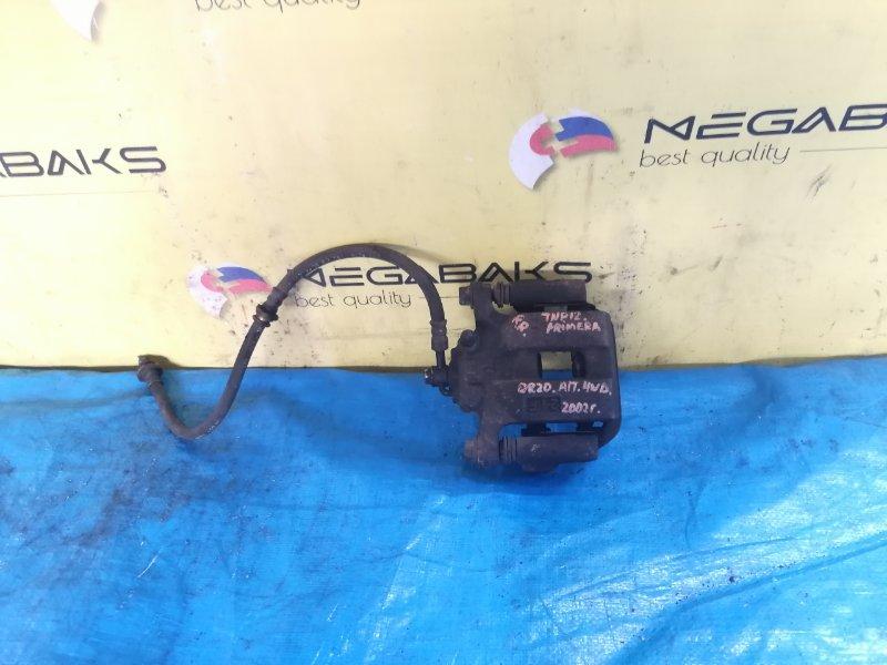 Суппорт Nissan Primera TNP12 QR20DE задний правый (б/у)