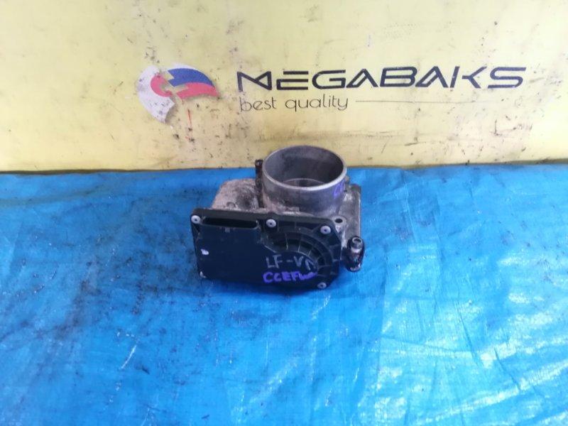 Дроссельная заслонка Mazda Biante CCEFW LF LF2L 13640 / 1141 011077K07 (б/у)