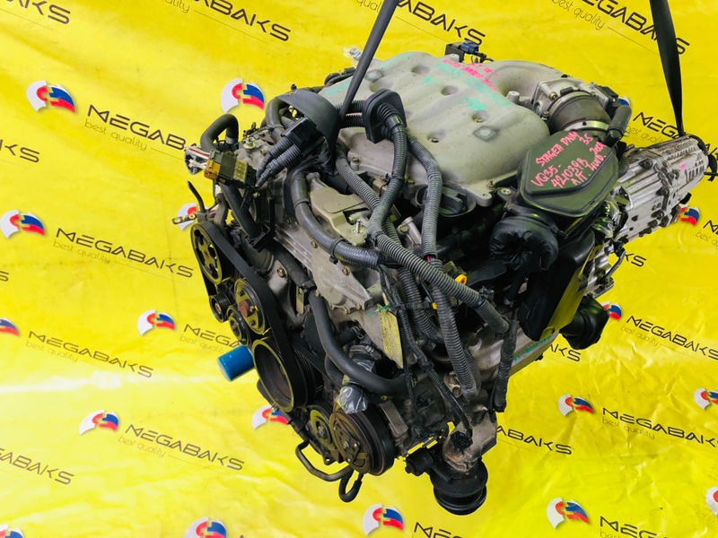 Двигатель Nissan Stagea PNM35 VQ35DE 2004 421039B (б/у)
