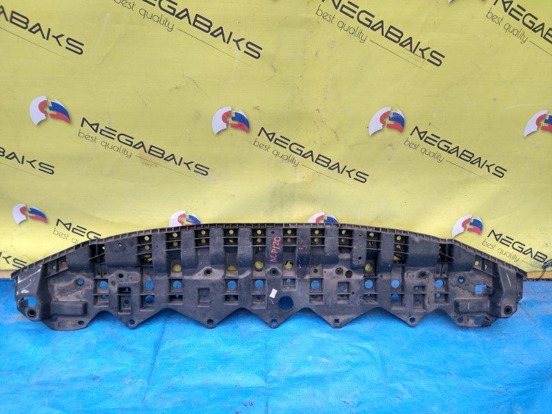Защита бампера Toyota Ractis NCP120 передняя 52618-52040 (б/у)
