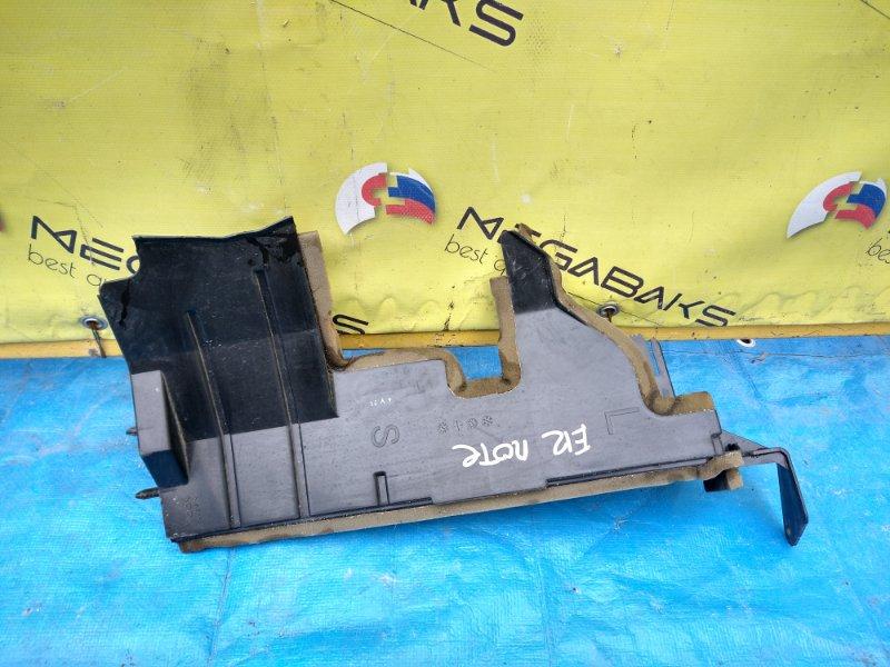 Защита радиатора Nissan Note E12 левая (б/у)