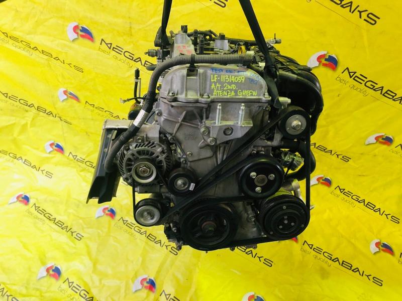 Двигатель Mazda Atenza GHEFW LF-VD 2009 11314059 (б/у)